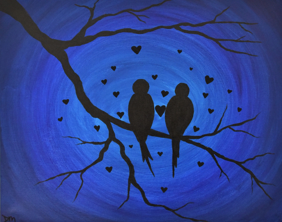 Birds-in-Blue