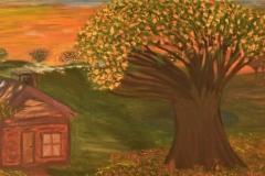 Autumn-Landscape-in-Gold