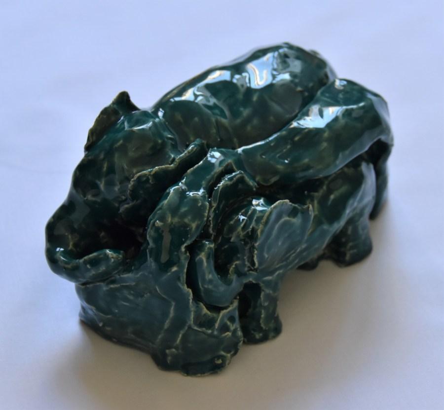 Ceramic-Mother-Elephant-and-Bub