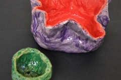 Red-and-Green-Bowls